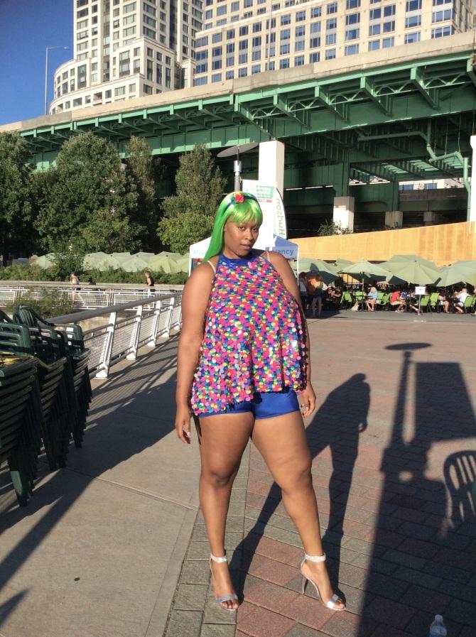 Nebuilah at Summer on the Hudson. 7/31/2015. Riverside Park, New York, NY.