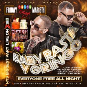 Baby Rasta Y Gringo A Salsa Con Fuego En El Bronx Esta Noche